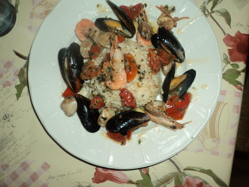 Cupolotto di riso integrale al profumo di mare piatti di felicit - Cucinare riso integrale ...